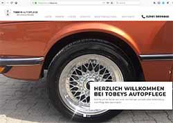 Tobeys Autopflege