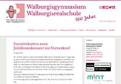 Walburgisgymnasium Walburgisschule Bestwig